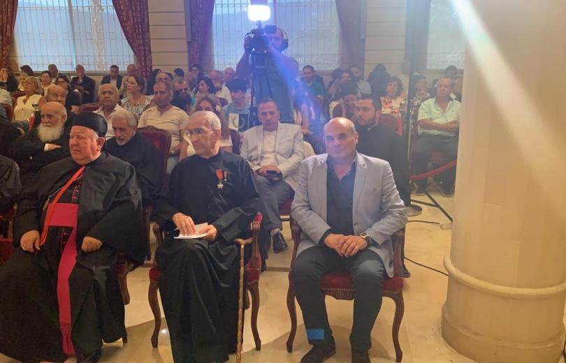 افرام يشارك في احتفال الشبانية للأب يوسف مونس