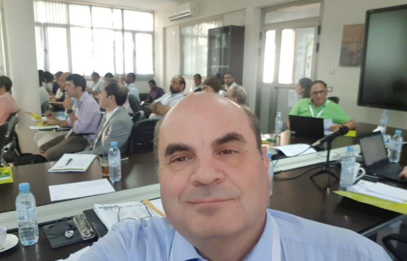 افرام يشارك في اجتماع ايكاردا حول القرن الجاف