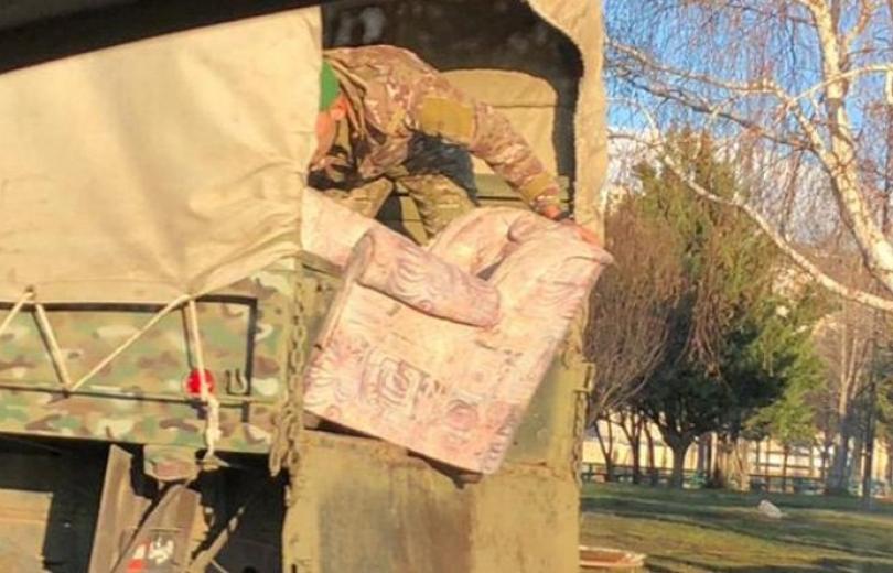 الجيش يفكك كل خيم الطرقات في الاوسط