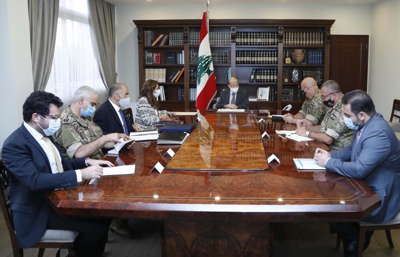 بالصورة الوفد اللبناني المفاوض