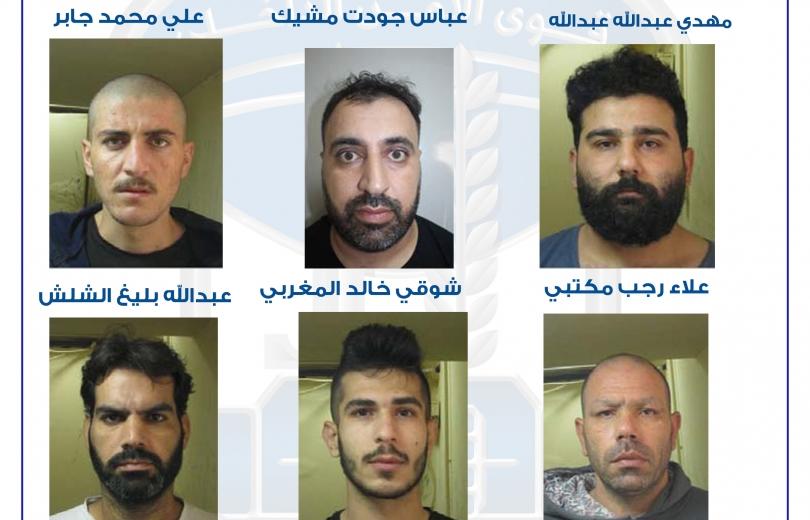 السجناء الفارون بالاسماء والصور