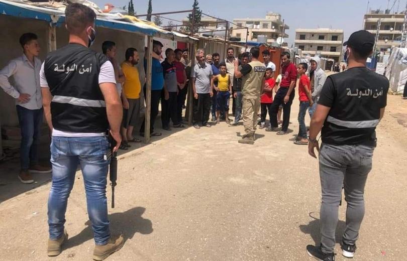 بلدية المرج تشدد اجراءاتها على مخيمات النازحين السوريين