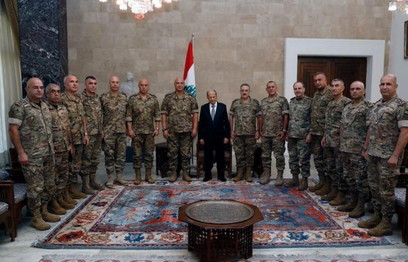 قائد الجيش لـ عون:سيبقى جيشنا الضمانة لبنيان الوطن