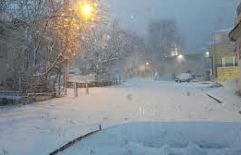 مصلحة الابحاث الثلوج والأمطار قادمة