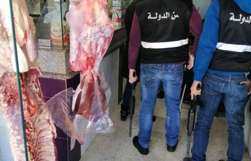 مديرية امن الدولة في بعلبك تعيد اللحم المدعوم الى الاسواق.