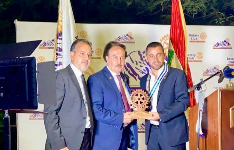 تسلم وتسليم في نادي روتاري شتورا : حنا سليمان سماحة رئيسا جديدا