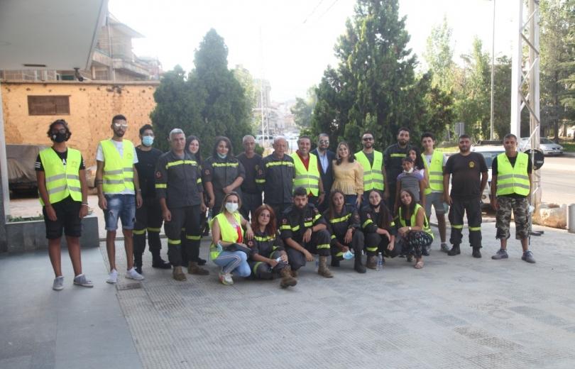 برعاية بلدية زحلة حركة شباب الشرق تطلق حملة توعية للحد من مخاطر الحرائق
