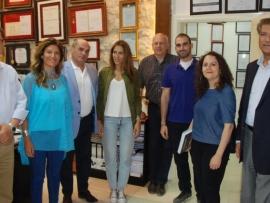 الخارجية اللبنانية  تتفقد مركز ايكاردا و مصلحة الابحاث العلمية الزراعية