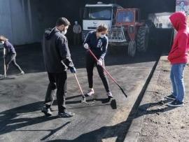 تنظيف نفق برالياس