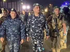 اللواء عثمان من وسط بيروت ما حدا يلعب بامن الشارع وزرع العداوة بين القوى الامنية والشعب مرفوض