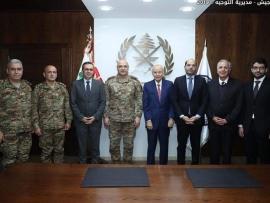 توقيع اتفاقية تعاون بين الجيش اللبناني والجامعة اللبنانية الدولية
