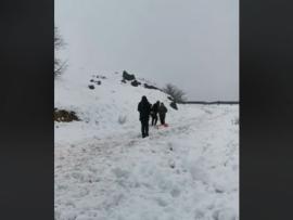الطرق المقطوعة بسبب الثلوج