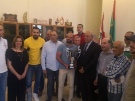 كأس بطولة انيبال في بلدية زحلة