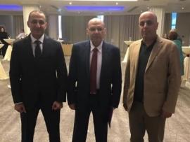 ابو فيصل في حفل استقبال السفارة المصرية في يارفان