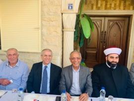 محمد احمد ياسين يكرم مدير ايدال نبيل عيتاني ويطلق مبادرتين لتحسين القطاع الزراعي