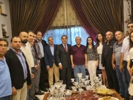 ياسين يهنئ حمزة ويشكر الرئيس الحريري