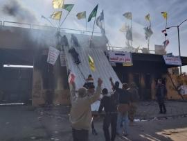 العراق.. اعتصام جديد في محيط السفارة الأميركية