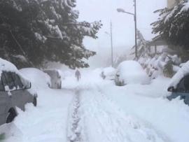 منخفض قبرصي خلال ساعات وثلوج عا٨٠٠