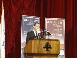 مرتضى أطلق المرحلة الثانية من عملية ترميم الابنية الاثرية: ادعموا بيروت