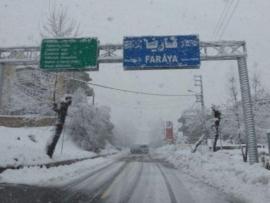 مصلحة الابحاث تطلب التحضر لمنخفض جوي يحمل  امطار وثلوج