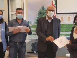 بلدية زحلة توزع شهادات درب النجاح