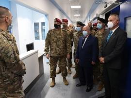 قائد الجيش افتتح قسم العمليات الجراحية في المستشفى العسكري