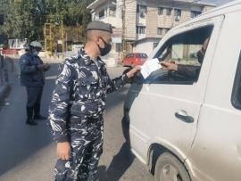 قيادة منطقة البقاع تواصل اجراءاتها ضد المخالفين للاقفال