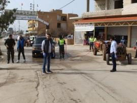 بلدية حي الفيكاني تواصل حملة التعقيم