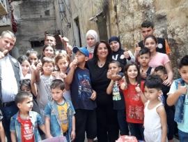 الاصلاح والتأهيل ترسم الفرحة على وجوه الاطفال في طرابلس الفيحاء