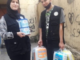 الاصلاح والتأهيل توزع في طرابلس وتشكر