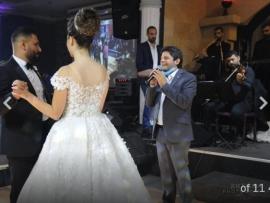 حفل زفاف سلطان نجل الفنان رضا & جويس إبنة رئيس جمعية تجار عاليه سمير شهيب