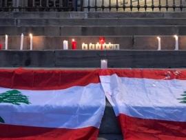 بالصور: شموعٌ من أجل لبنان