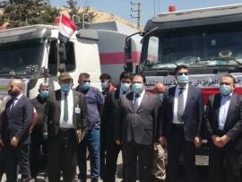 بالصور النفط العراقي وصل إلى لبنان