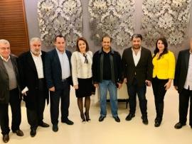 زياد حمزه يستضيف سفير الإمارات في جبيل بحضور القائمقام وشخصيات أخرى