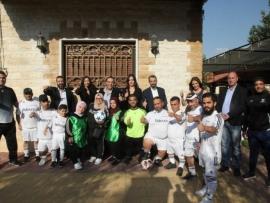 حركة شباب الشرق تكرم اعلامي البقاع وتطلق مشروع فريق ذوي الهمم لكرة القدم برعاية رجل علي العينا