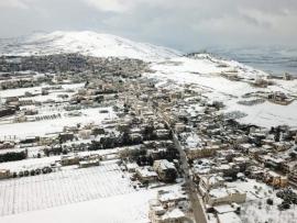 الصقيع يحل مكان الثلوج وارشادات مصلحة الابحاث الى المزارعين والمواطنين