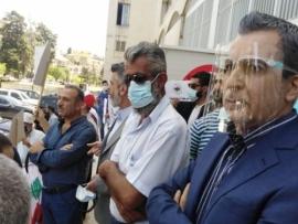 اعتصام للحراك الثوري البقاعي تأييدا للقاضية أماني سلامة