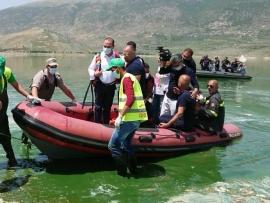مرتضى تفقد بحيرة القرعون: للاسراع في إنشاء محطات التكرير