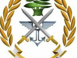الجيش توقيف أشخاص في قب الياس وضبط أسلحة حربية