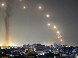 الف صاروخ من غزة الى اسرائيل