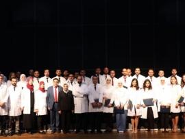 حفل تخرج أطباء الاختصاص في جامعة بيروت العربية