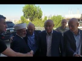 اللواء شمص يعايد المفتي الصلح