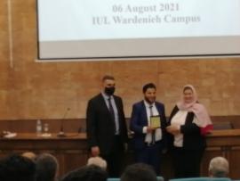 جامعة بيروت العربية تحصد المركزين الاول والثالث في مسابقة طلاب هندسة الطب الحيوي في لبنان