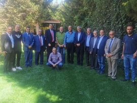 وزير الزراعة الحاج حسن  يلتقي بالفعاليات والنقابات الزراعية : سنكون يدا واحدة لانماء القطاع الزراعي