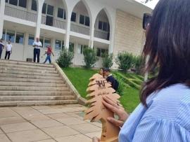 نازك الحريري تتدخل : إقامة مصلى في جامعة رفيق الحريري