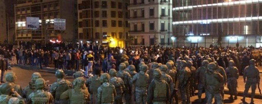 الجيش لم يعد مسؤولاً عن أمن وسط بيروت!