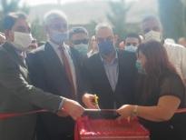 استقبال شعبي حاشد في عرسال للوزير مرتضى خلال افتتاحه مركزا زراعيا: الد